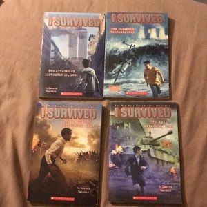 I Survived by Lauren Tarshis books bundle